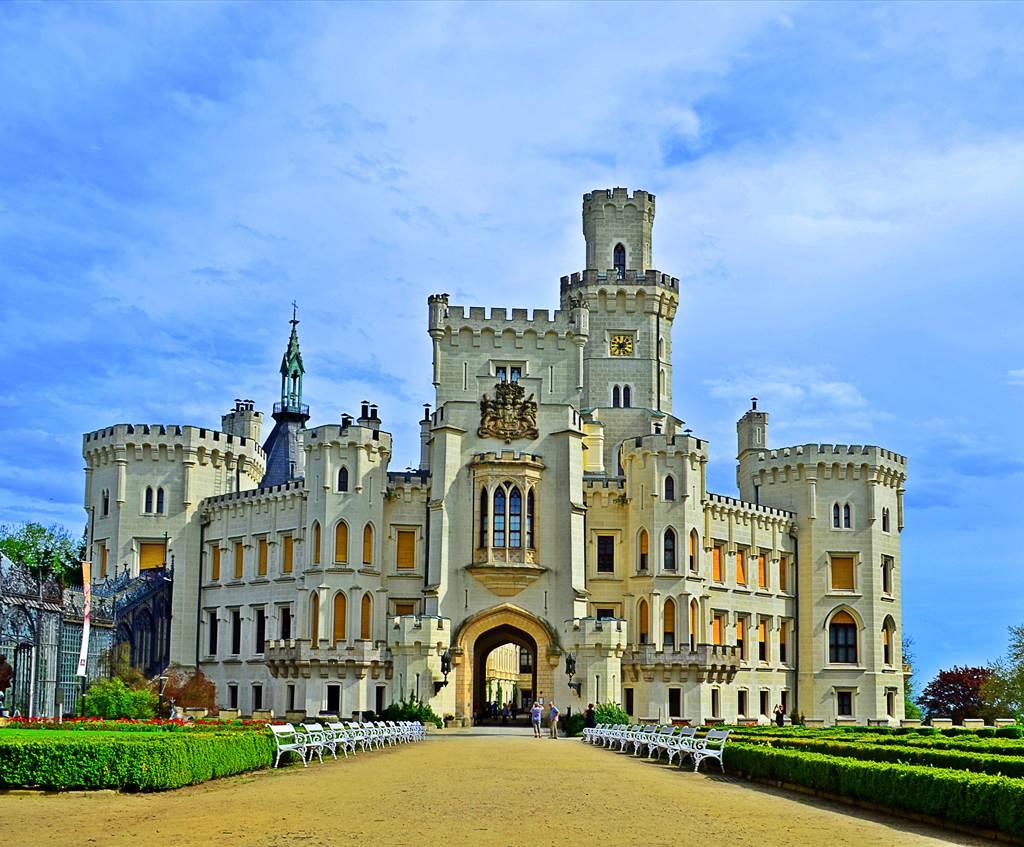 Dél-cseh várak és a Klosterneuburgi Apátság