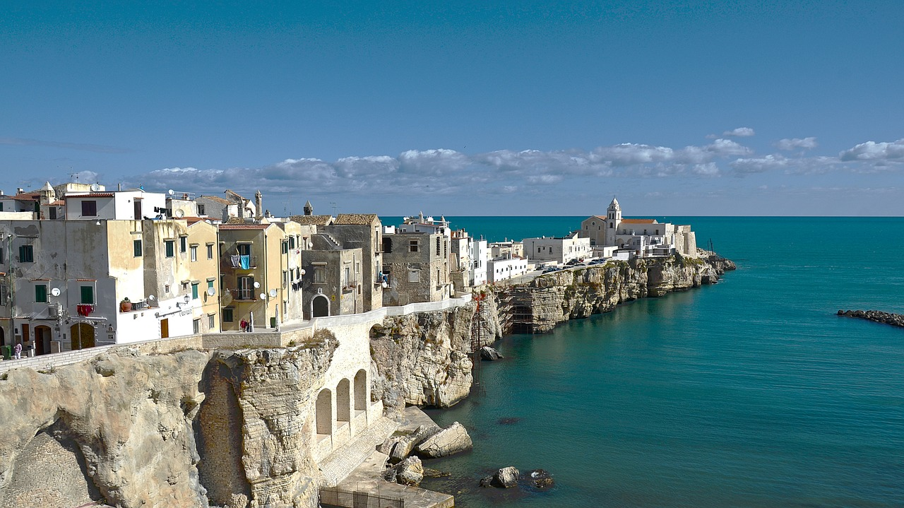 Ismeretlen Itália, az olasz csizma sarka
