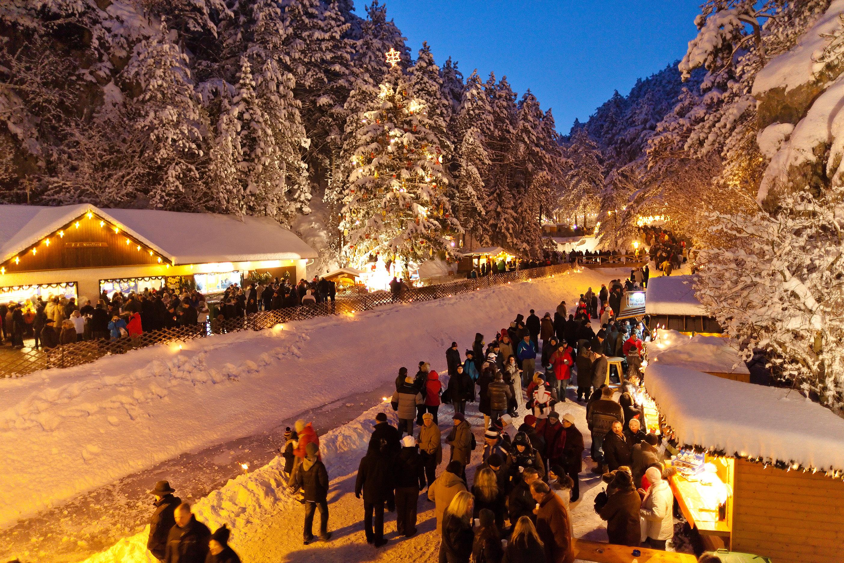 Advent a Bécsi Alpokban